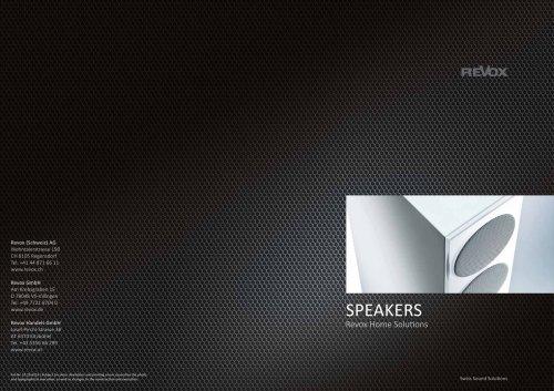 Revox speakers
