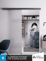 Aluminium systems for sliding doors