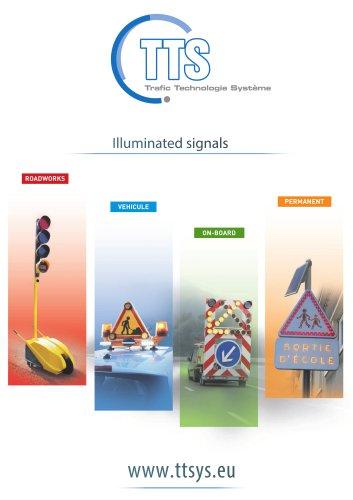 Illuminated signals