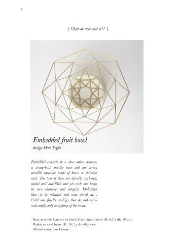 embedded fruit bowl