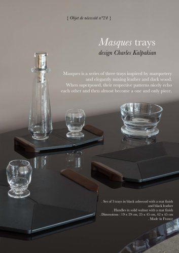 Masques trays