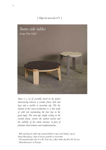 Sumo side tables