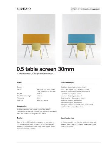 Light Table 30 mm