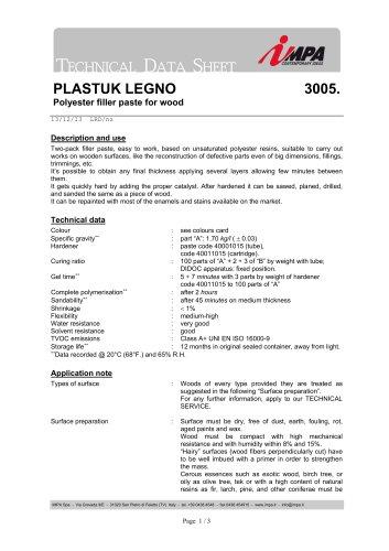 3005 PLASTUK LEGNO