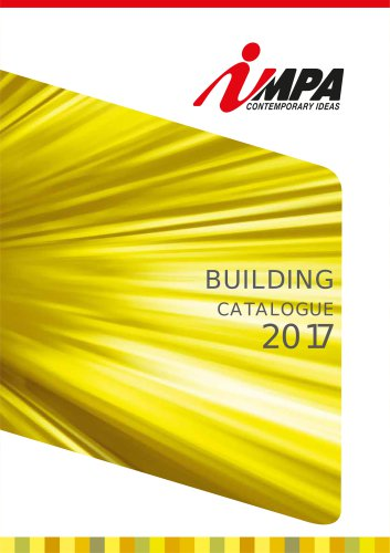 BUILDING CATALOGUE 2017