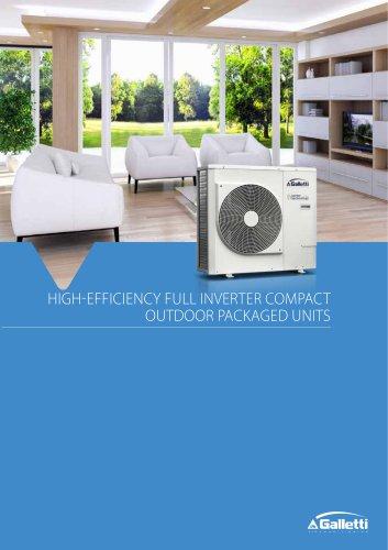 Air/water high efficiency heat pumps MCI