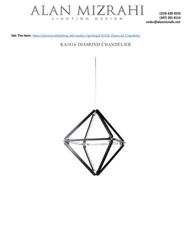 KA1816 DIAMOND CHANDELIER