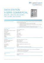 DATA STATION X-SERIE COMMERCIAL