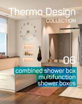 combined shower box multifunction shower boxes