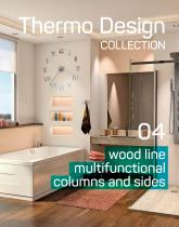 wood line multi functional columns and sides