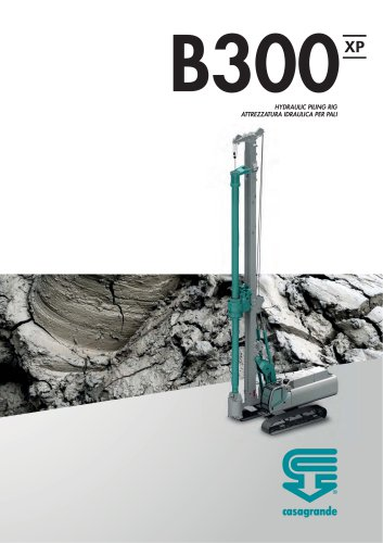 B300 XP – CFA Piling rig