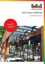 Patio heaters VARIOMAX