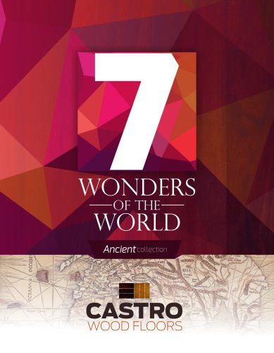 7 Wonders of the World Ancient Collection