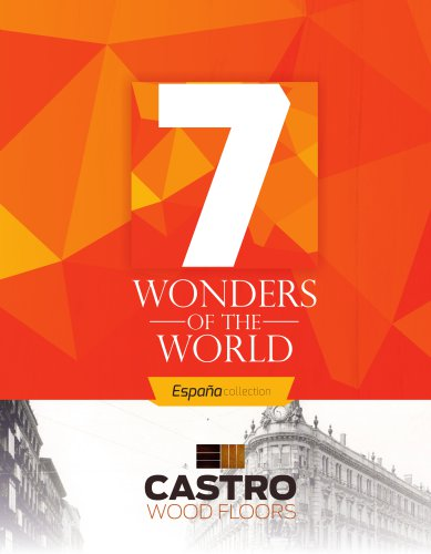 7 Wonders of the World Espana Collection