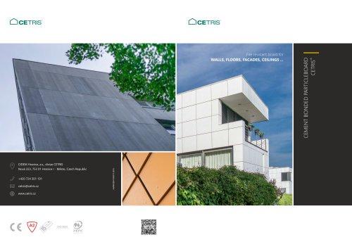 CETRIS cement bonded particleboard