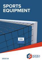 Sports Equipment - Catalogue 2021