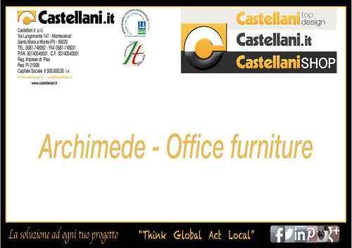 ARCHIMEDE - Office Catalogue