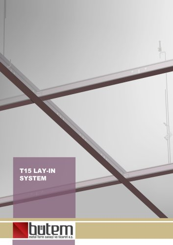 T15 Lay-in System