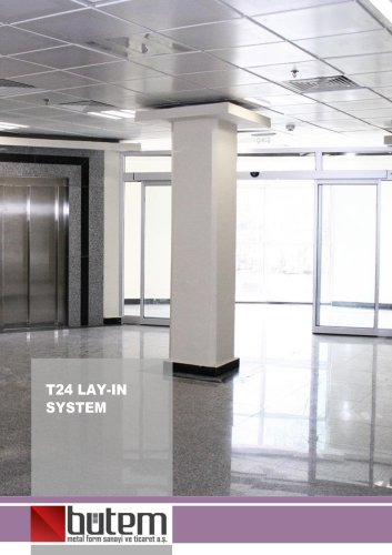 T24 Lay-in System