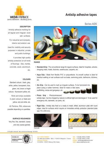Antislip adhesive tape