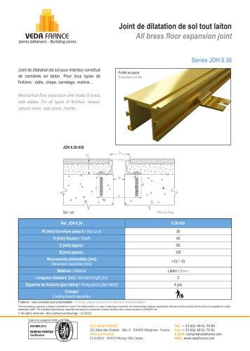 Mechanical floor joint - JDH 5.10