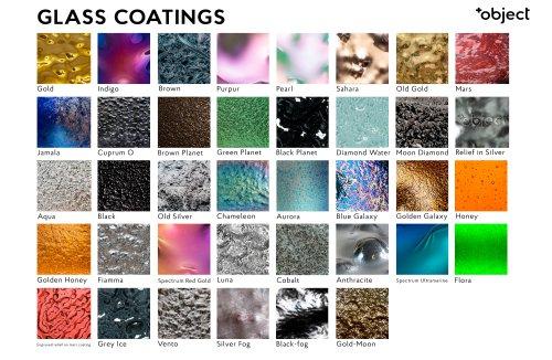 +Object Glass Coatings