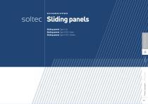 Soltec sliding folding listing panels