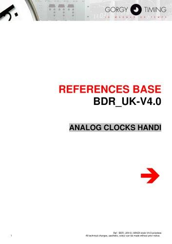 ANALOG CLOCKS HANDI