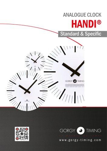 ANALOGUE CLOCK HANDI®