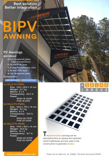 BIPV-Solar Photovoltaic Awnings