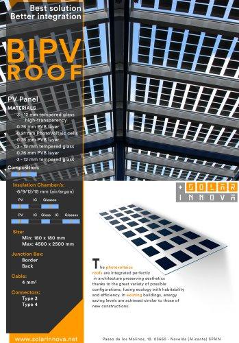 BIPV-Solar Photovoltaic Roofs