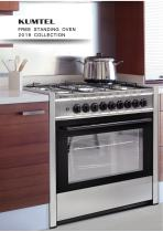 Kumtel Free Standing Oven 2019 Collection