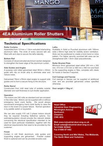 4EA Aluminium Roller Shutters