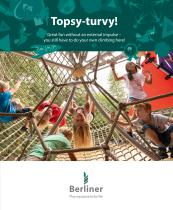 Topsy-turvy! Great fun without an external impulse – you still have to do your own climbing here!