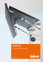 AVENTOS - Mitred and rebated applications