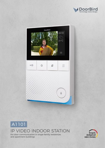 A1101 IP Video Indoor Station