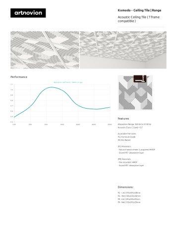 Komodo - Ceiling Tile