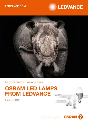 LED lamps brochure
