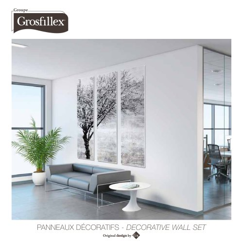 Wall decorative set brochure 2020