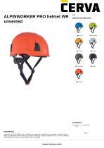 ALPINWORKER PRO helmet WR unvented