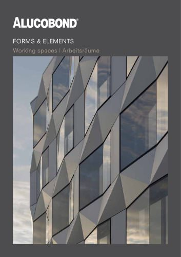 ALUCOBOND® Forms & Elements Working spaces