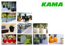 KAMA flowerpots
