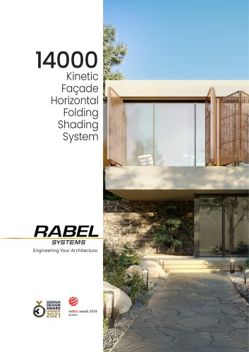 Rabel 14000 / KINETIC FAÇADE HORIZONTAL FOLDING SH