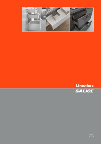 Lineabox - Prospetto tecnico