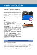 SPORTFLOOR-EX HARD COURT