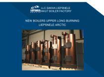 Boilers catalog