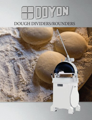 DSA354 Semi-Automatic Divider Rounder - 54 Portion Cutting Head