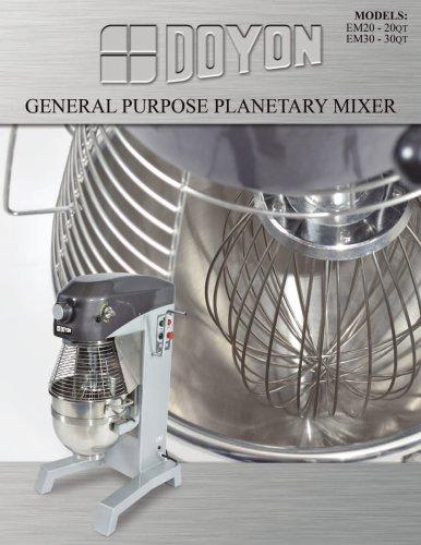 General Purpose Planetary Mixer