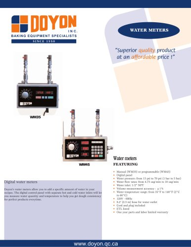 Water meter WM45