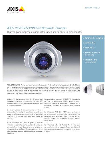 AXIS 212 PTZ/212 PTZ-V Network Cameras